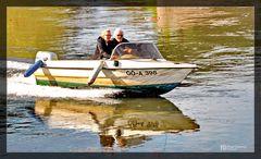 Freizeitspass auf der Weser