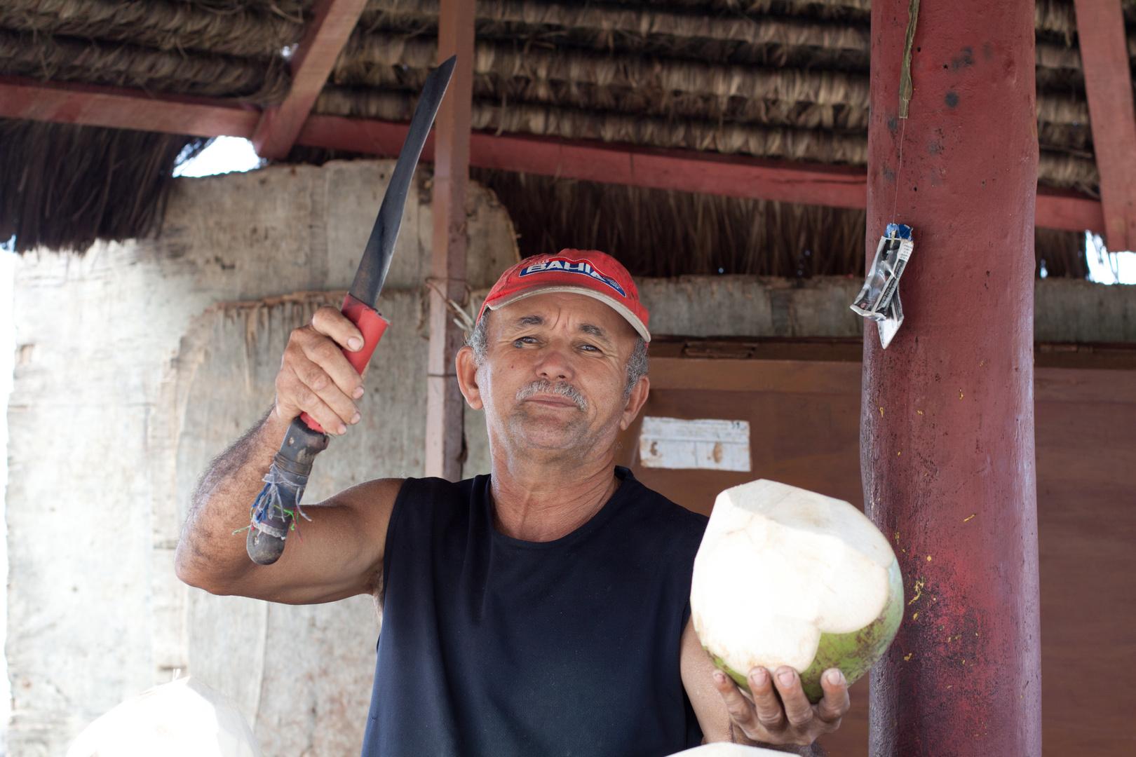 Fresh Coconut...