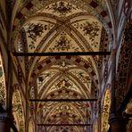Freskendecke in der Chiesa St Anastasia in Verona