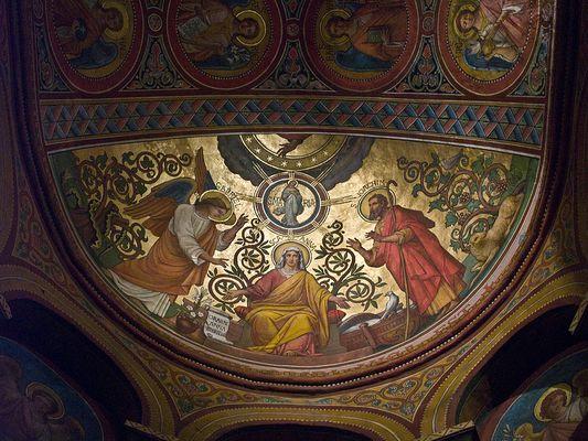 Fresken fotos bilder auf fotocommunity - Fresque du plafond de la chapelle sixtine ...