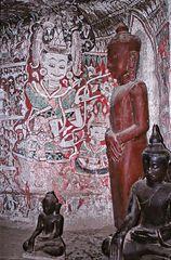 Fresques de Po Win Daung