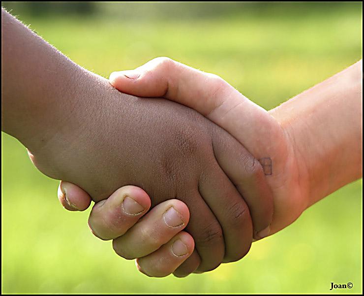 Freundschaft kent keine farbe