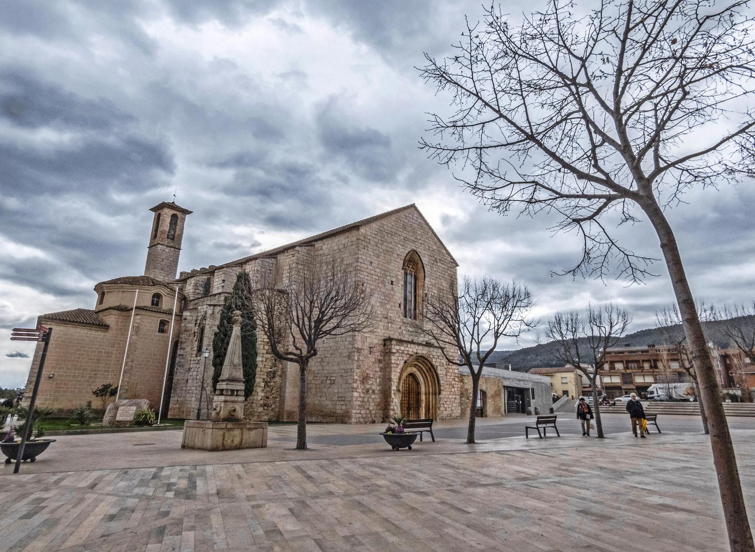 Fría mañana de marzo en Montblanc (Tarragona / Catalunya)