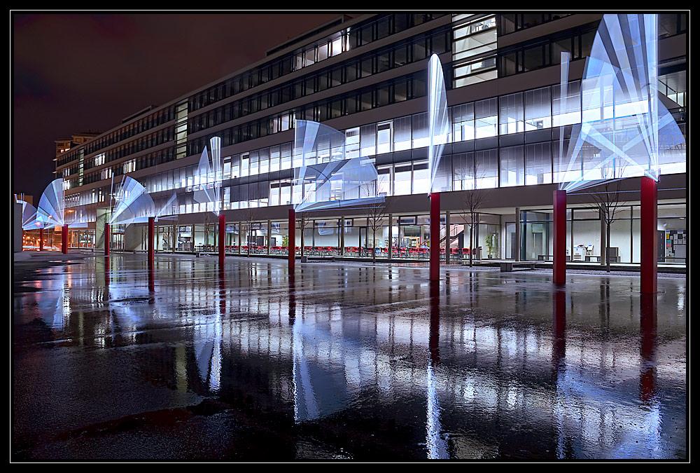 Fribourg at night II