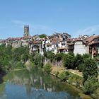 Fribourg vista dal fiume