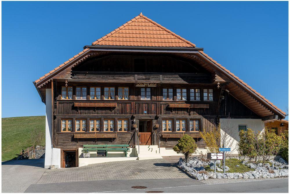 Fribourger Wohnhaus