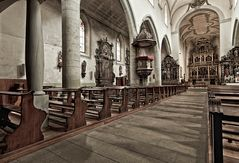 Fribourg's Kirche