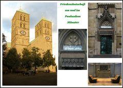 Friedensbotschaft am und im Dom von Münster 2018
