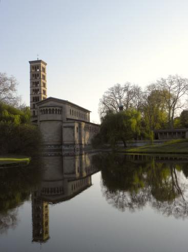 Friedenskirche in Potsdam - doppelt