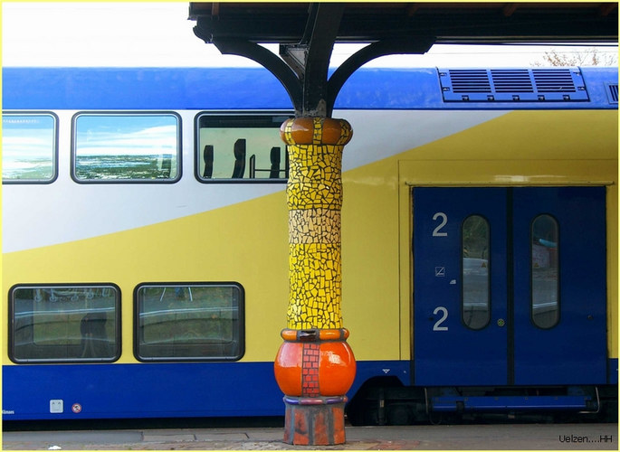 Friedensreich Hundertwasser in Uelzen >4<