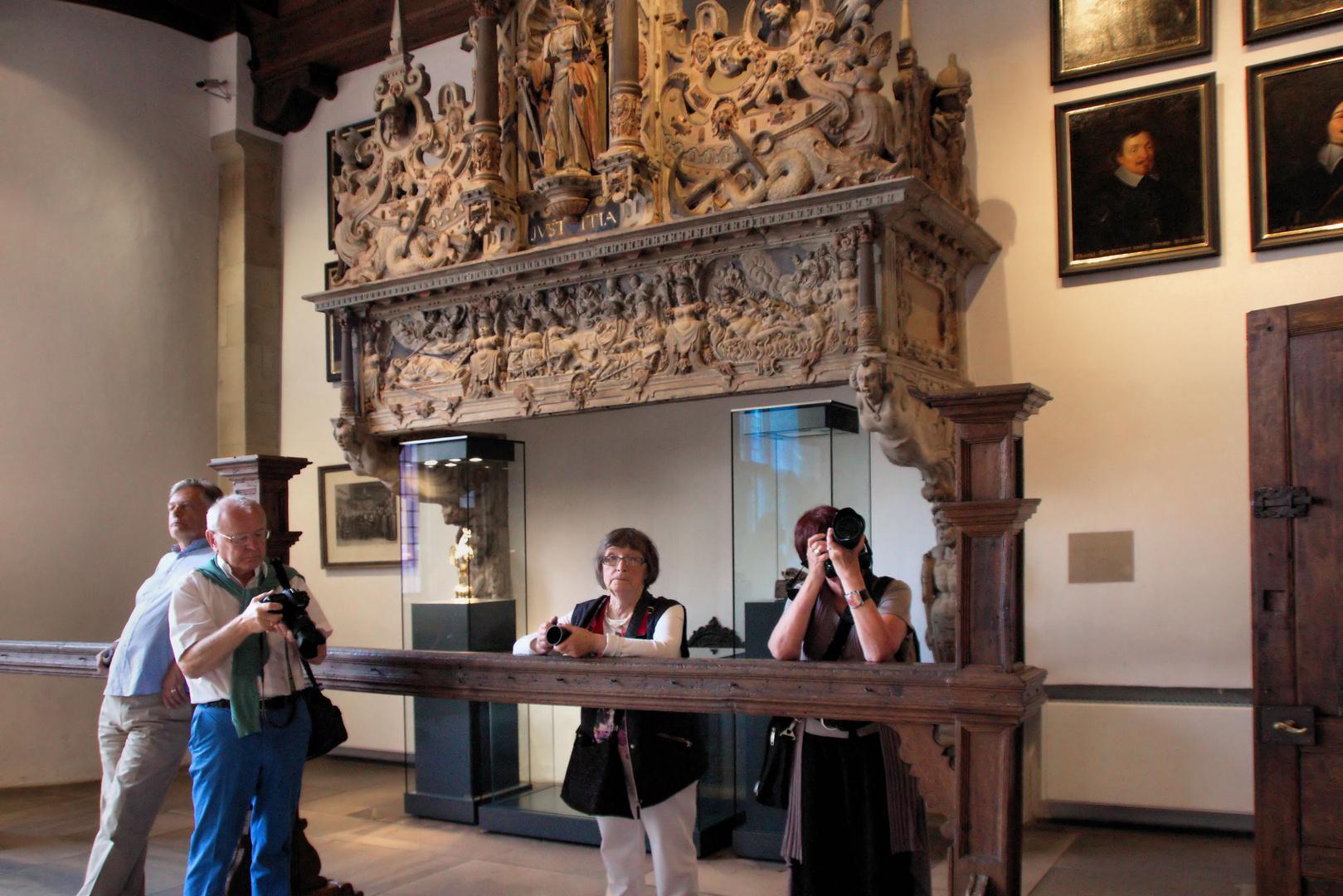 Friedenssaal im historischen Rathaus Münster