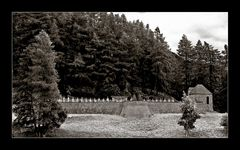 Friedhof am Reschensee...