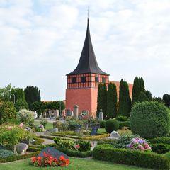 Friedhof auf Bornholm (Dänemark)