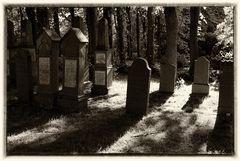 Friedhof aus dem Jahre 1569