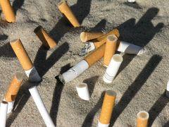Friedhof der Zigaretten ...