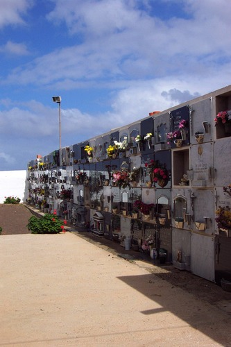 Friedhof in La Oliva Fureteventura