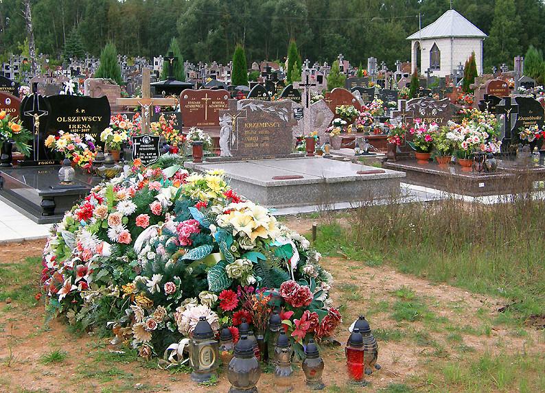 Friedhof in Polen