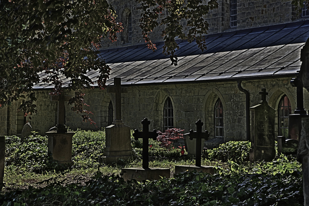 Friedhof in Quedlinburg
