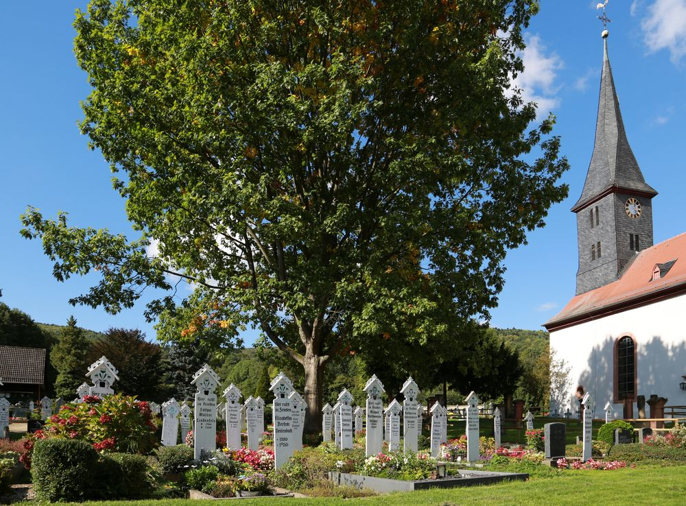 Friedhof in Schlierbach