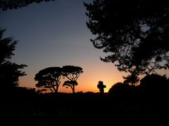 Friedhof in Südengland - Abendstimmung