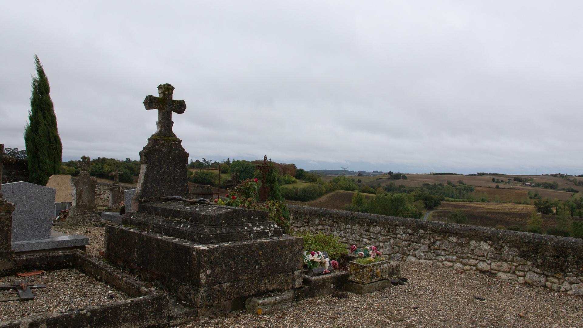 Friedhof mit Aussicht