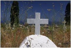 Friedhof mit Meerblick I