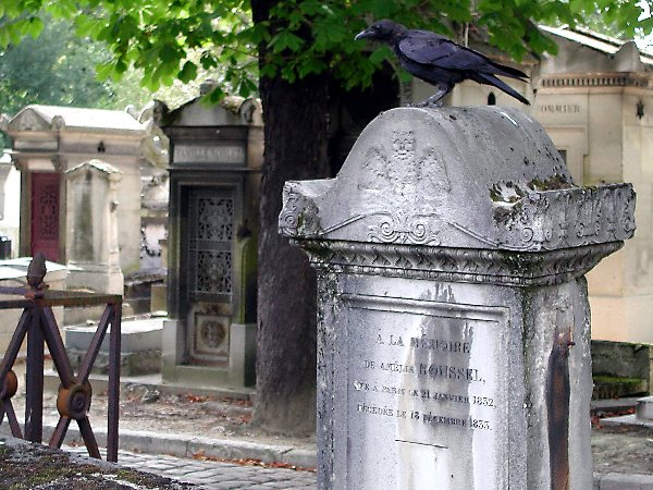 Friedhof Paris Nr. 03 Die Krähe - The Crow