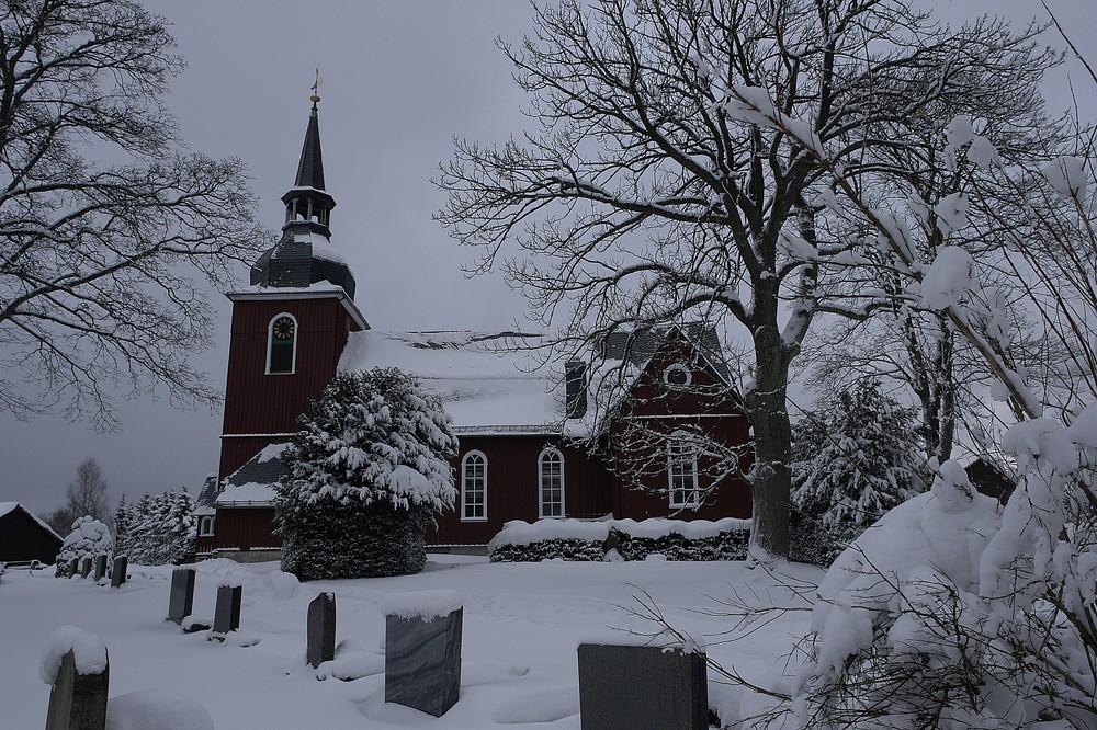 Friedhof u. Kirche in Hohegeiß / Harz