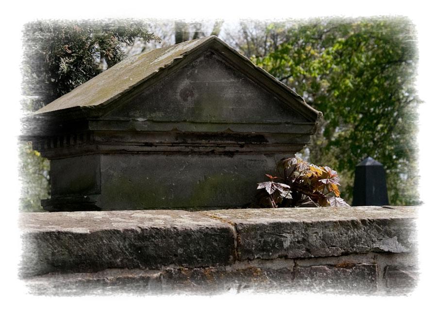Friedhofsmauer...