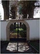 Friedhofstor (alter jüdischer Friedhof am Kaiserstuhl)