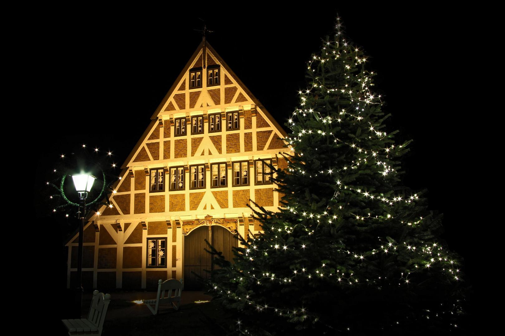 Weihnachten 2019 In Deutschland.Friedliche Weihnachten Und Ein Glückliches Jahr 2019 Foto Bild