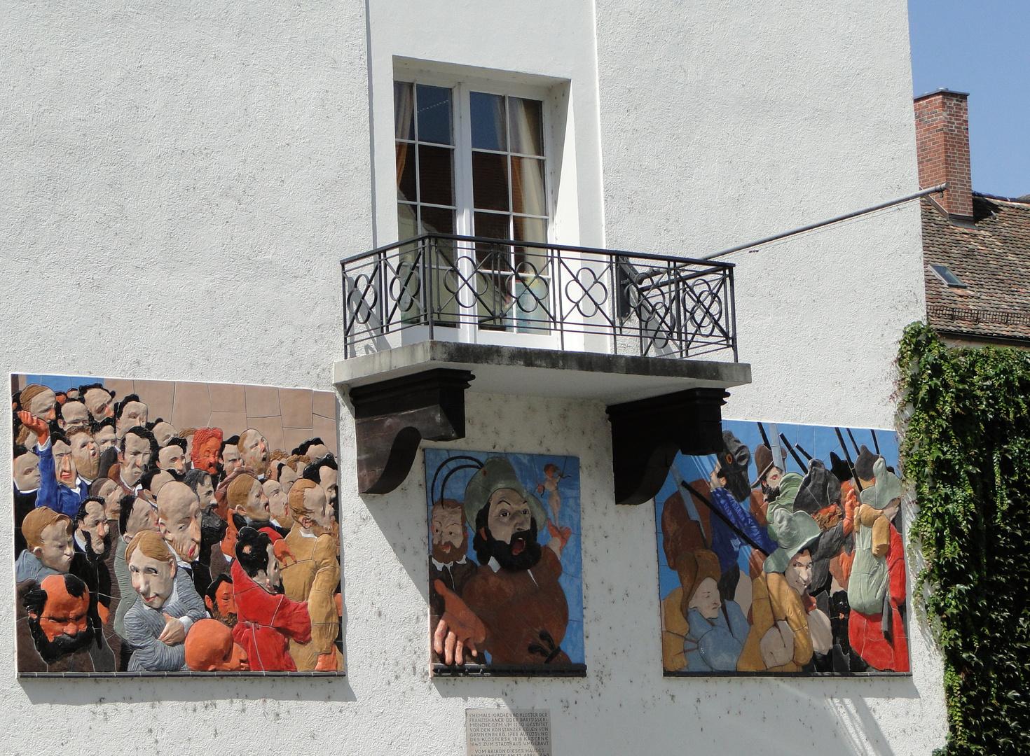 Friedrich-Hecker-Balkon in Konstanz