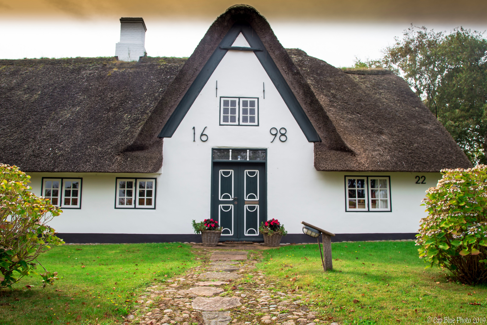 Friesisches Haus in Keitum von 1698