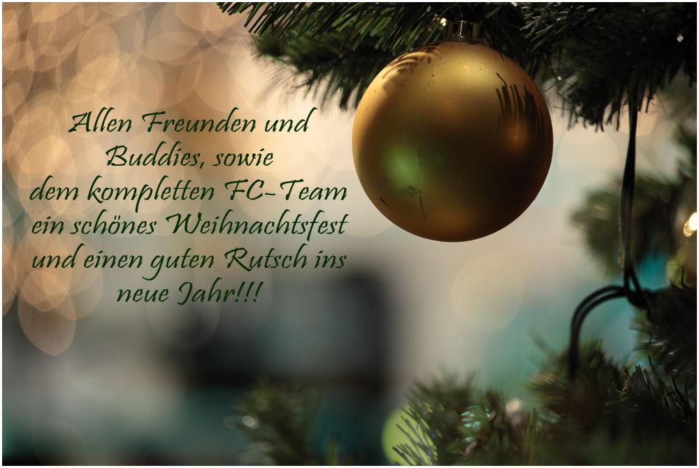 Fröhliche Feiertage!!