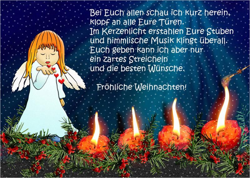 Fröhliche Weihnachten Foto & Bild | karten und kalender ...