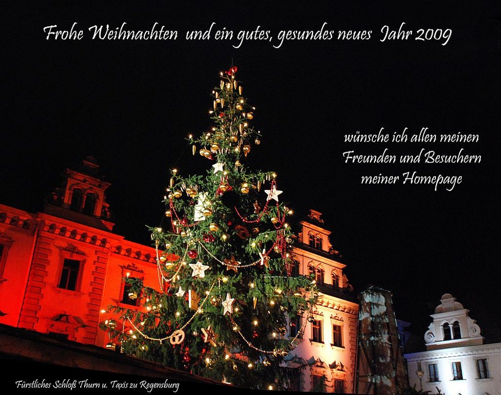 Fröhliche Weihnachten und ein gutes neues Jahr Foto & Bild ...