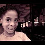 Fröhliches Kind aus Camagüey