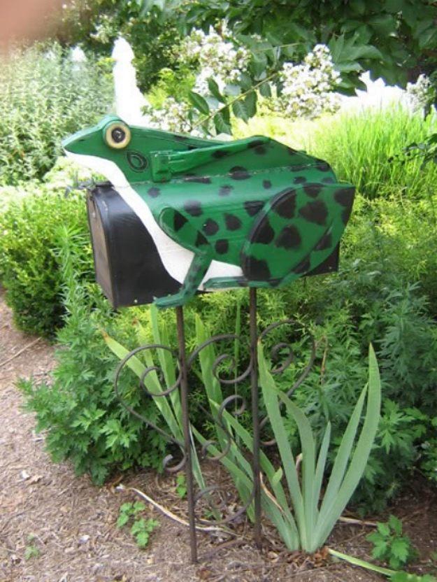 Frog mailbox