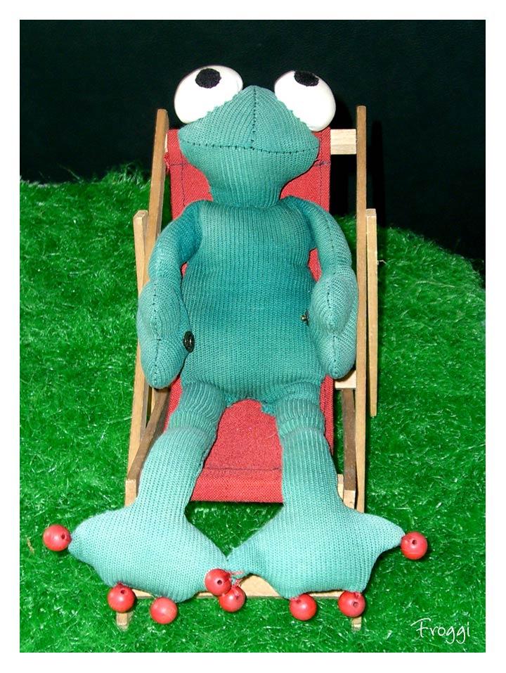 Froggi ruht sich aus