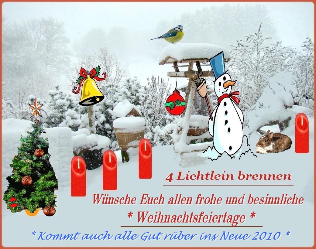 Wünsche Euch Besinnliche Weihnachten.Frohe Festtags Wünsche Foto Bild Gratulation Und Feiertage
