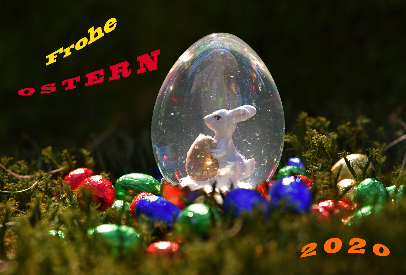 Frohe Ostern  2020
