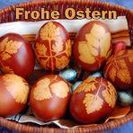 Frohe Ostern - deutsch