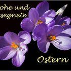Frohe Ostern wünsch ich Euch...