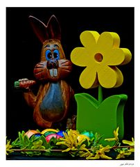 Frohe Ostern wünsch ich euch!