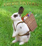 Frohe Ostern wünsche ich...