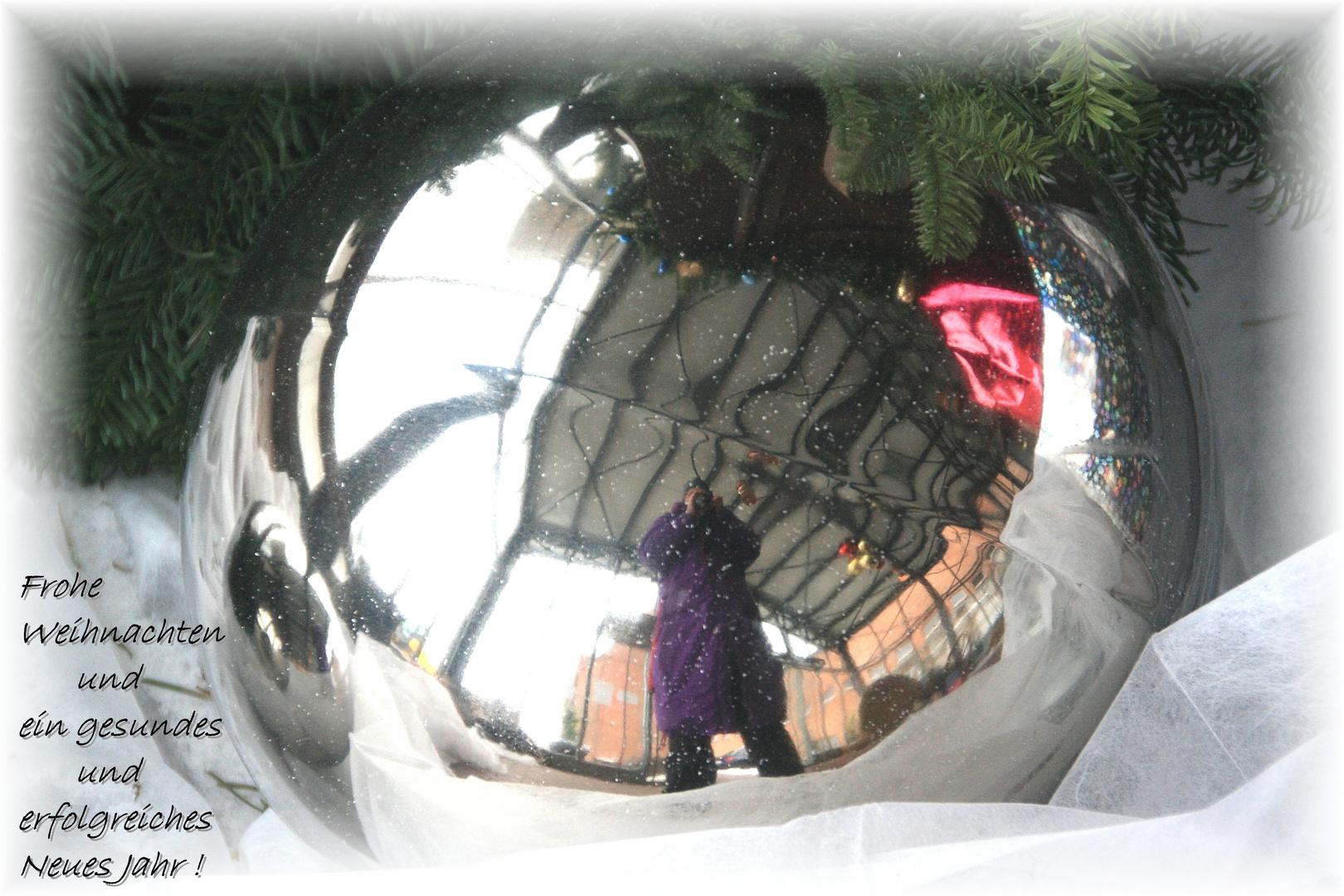 Frohe und besinnliche Weihnachten .....