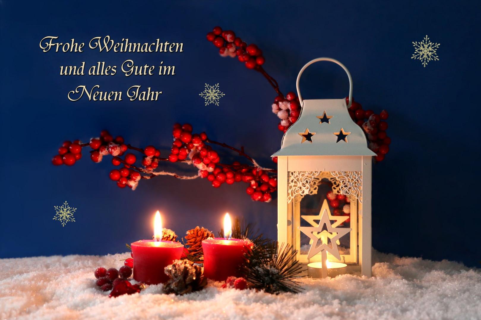Frohe Und Gesegnete Weihnachten.Frohe Und Gesegnete Weihnachten Foto Bild Weihnachten Laterne