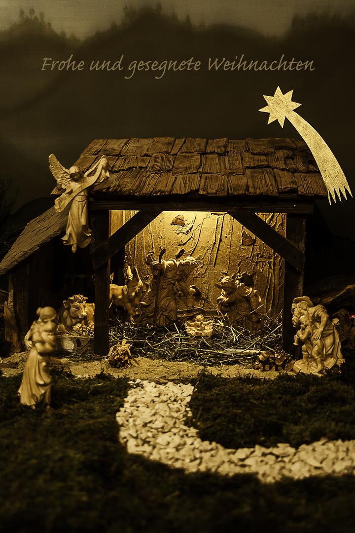 Frohe Und Gesegnete Weihnachten.Frohe Und Gesegnete Weihnachten Wünsche Ich Foto Bild