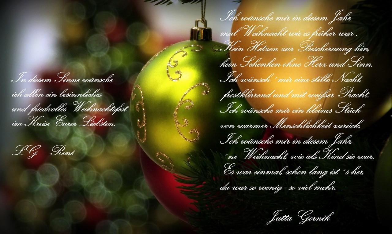 In Diesem Sinne Frohe Weihnachten.Frohe Weihnachten Foto Bild Gratulation Und Feiertage