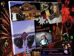 Frohe Weihnachten 2010 und ein glückliches Neues Jahr!